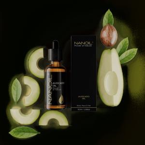 Avocadoöl Nanoil für Hautpflege