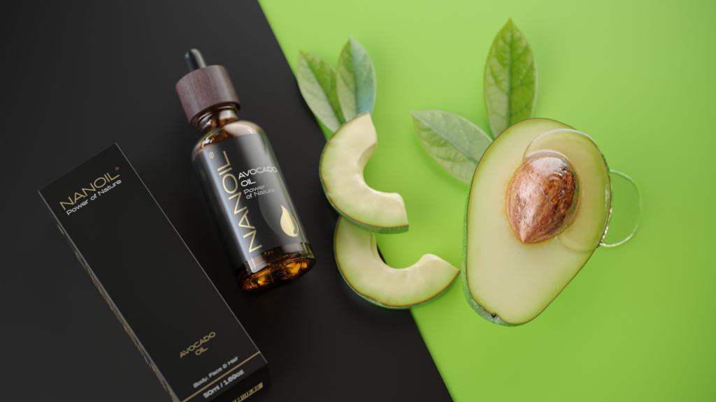 Nanoil Avocadoöl für Haare